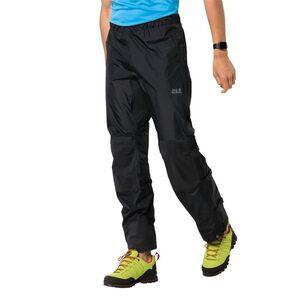 Jack Wolfskin Protection Pants Regenhose unisex XXXL schwarz black