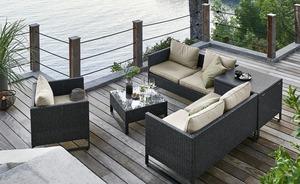 Geflecht-Lounge