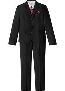 Jungen Anzug + Hemd + Krawatte (4-tlg. Set)