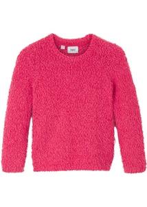 Mädchen Flausch-Pullover