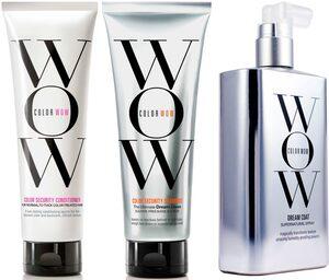 COLOR WOW Haarpflege-Set »Color Security Shampoo + Color Security Conditioner N-T + Dream Coat Supernatural Spray«, 3-tlg.