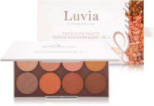 Luvia Cosmetics Highlighter-Palette »Prime Glow Palette - Essential Highlighter Shades Vol.2«