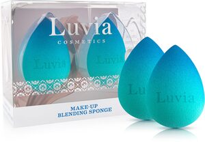 Luvia Cosmetics Make-up Schwamm »Make-Up Blending Sponge - Blue Lagoon«, 2 tlg.