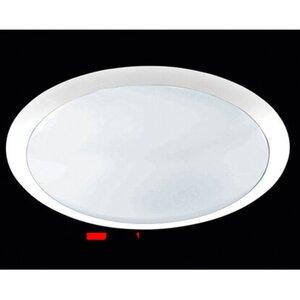 Trio LED-Deckenleuchte Weiß dimmbar Ø 42 cm EEK: A