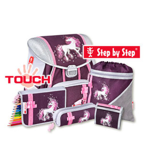 "Schulranzenset Step by Step TOUCH ""Unicorn"", 5tlg."