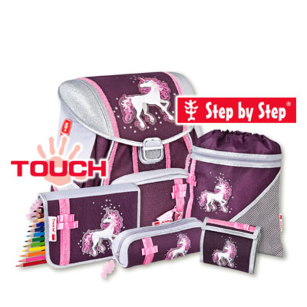 "Schulranzenset Step by Step TOUCH ""Unicorn"", 5tlg."
