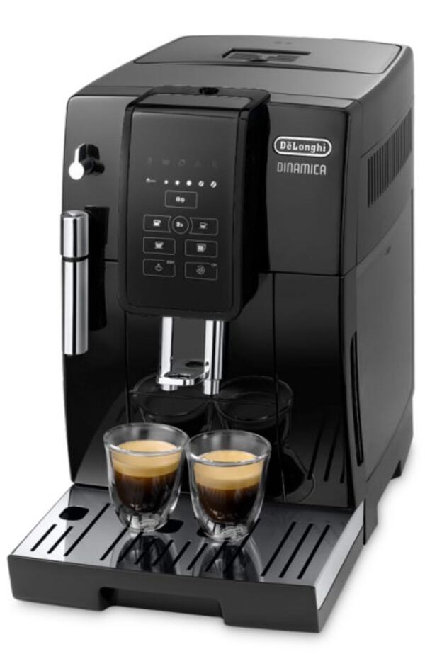 DELONGHI ECAM 353.15.B DINAMICA schwarz Kaffeevollautomat (one-touch, Kegelmahlwerk, herausnehmbare Brühgruppe)