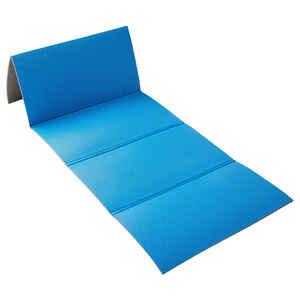 Fitnessmatte faltbar 160 cm × 60 cm ×7 mm blau