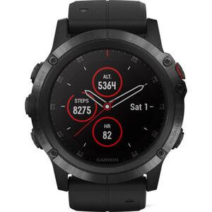 "Garmin Herren Smartwatch fenix® 5X Plus Sapphire Schwarz ""010-01987-03"""