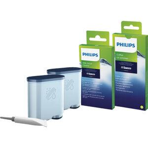 Philips Wartungskit mit AquaClean Wasserfilter CA6707/10