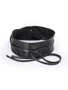 Gürtel aus 100% Leder Uta Raasch schwarz