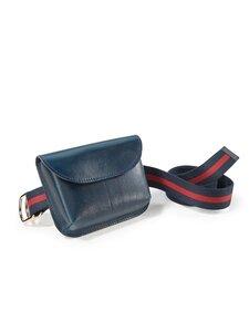 Gürtel-Tasche Peter Hahn blau Größe: 75