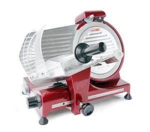 Hendi Aufschnittmaschine Profi Line 250 rote Sonderedition, 485x420x395 mm