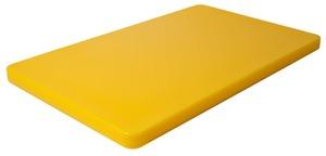 Contacto Schneidbrett GN 1/1, gelb 25mm