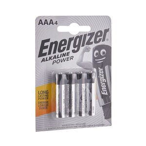 ENERGIZER Batterien POWER 4er Set AAA 1,5V Akaline