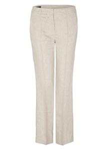 Damen Regular Fit: Straight leg-Leinenhose