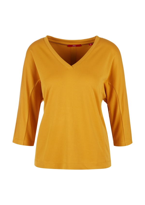 Damen Shirt mit Piquéstruktur