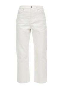 Damen Regular Fit: Straight Crop Leg-Jeans