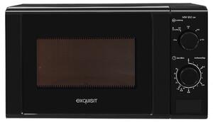 Exquisit Mikrowelle MW 802 20 L Solo, schwarz