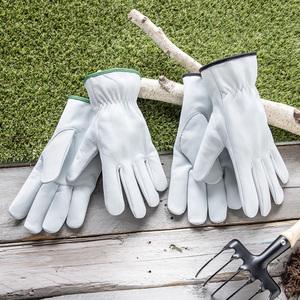 Powertec Garden Ziegenlederhandschuhe