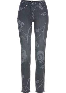Trendige Jeans bedruckt