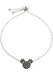 Mickey Mouse Armband veredelt mit Swarovski® Kristallen