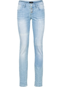 Stretchjeans im Used-Look