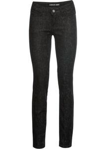 Skinny Jeans mit Schlangen Waschung
