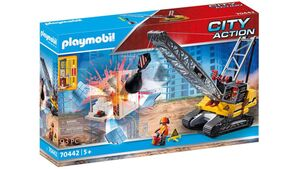 PLAYMOBIL 70442 - City Action - Seilbagger mit Bauteil