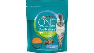 Purina ONE DUAL NATURE für ausgewachsene Katzen Huhn mit Spirulina Katzentrockenfutter