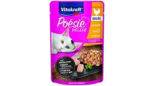 Vitakraft Katzennassfutter Poésie® Délice Gelee + Huhn