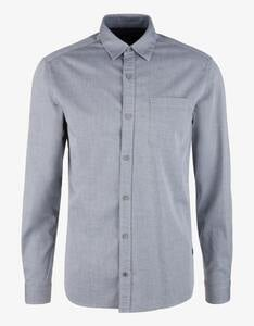 s.Oliver - Twill-Hemd mit langen Ärmeln
