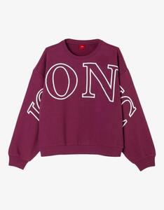 Girls Sweatshirt mit Statement-Wording