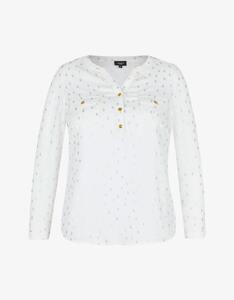 Bexleys woman - Bluse mit Folienprint