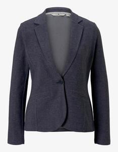 Tom Tailor - Blazer mit Revers-Kragen, reine Baumwolle