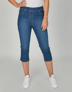 Bexleys woman - Capri-Jeans in Schlupfform