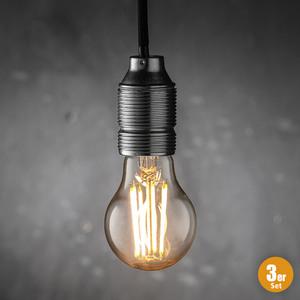 "I-Glow High Power LED Filament Leuchtmittel ""A-Shape"", E27 - 3er-Set"