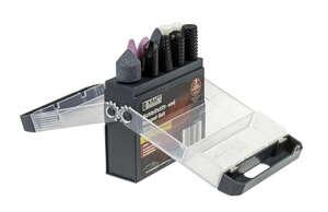 Kraft Werkzeuge Schleifstift- und Raspel-Set - 10tlg.