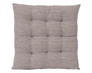 Stuhlkissen Tweed natur 40 x 40 x 6 cm