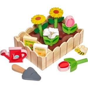 IDEENWELT Holz-Blumenbeet