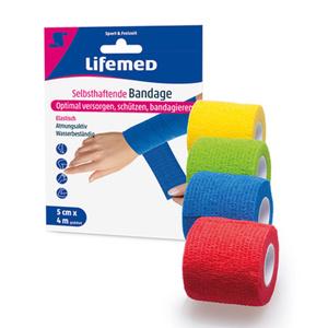 Lifemed Bandage selbsthaftend (4 Meter)