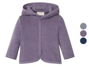 LUPILU® Baby Jacke, mit Kapuze, aus reiner Bio-Baumwolle