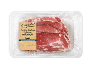 Landjunker Frisches Schweinenackenkotelett XXL-Packung