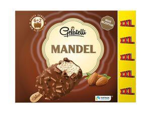 Gelatelli Stieleis Mandel XXL-Packung