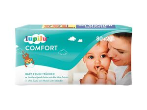 Lupilu Babyfeuchttücher Gel Lotion XXL-Packung