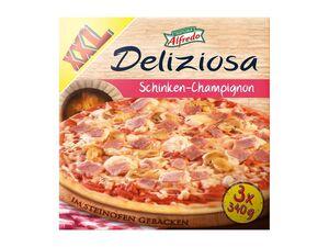 Trattoria Alfredo Pizza Deliziosa Schinken-Champignon XXL-Packung