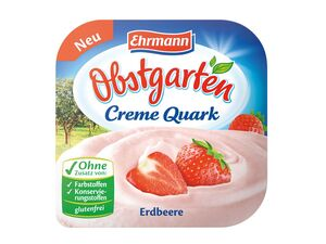 Ehrmann Obstgarten Creme Quark
