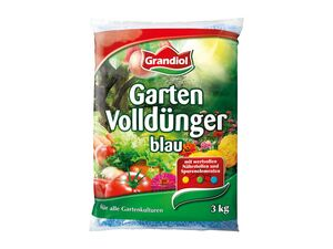 Grandiol Garten-Volldünger, blau