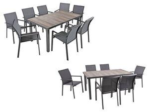Garden Pleasure Tischgruppe »Rana«, aus Alu Keramik