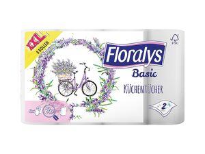 Floralys Motiv-Küchenrollen XXL-Packung